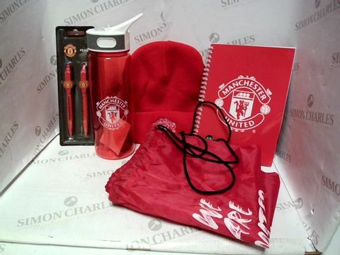 Lot 7171 MANCHESTER UNITED MERCHANDISE SET