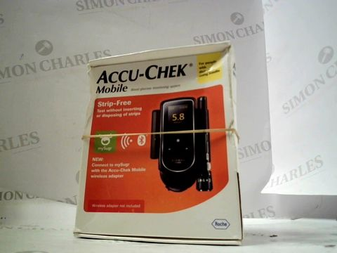 Lot 8259 ACCU-CHECK MOBILE BLOOD GLUCOSE MONITORING SYSTEM