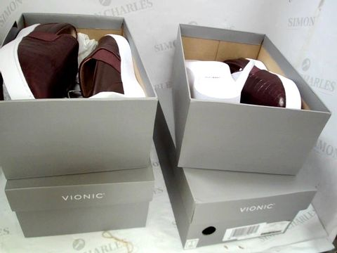 Lot 8379 14 BOXED PAIRS OF ASSORTED SHOES, INCLUDING, VIONIC, RIEKER & BRONYX