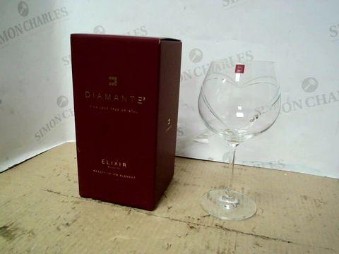 Lot 15195 DIAMANTE ELIXIR COLLECTION FINE CRYSTAL GLASS