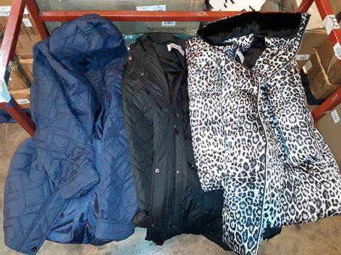 Lot 1209 LOT OF APPROXIMATELY 10 ASSORTED COATS