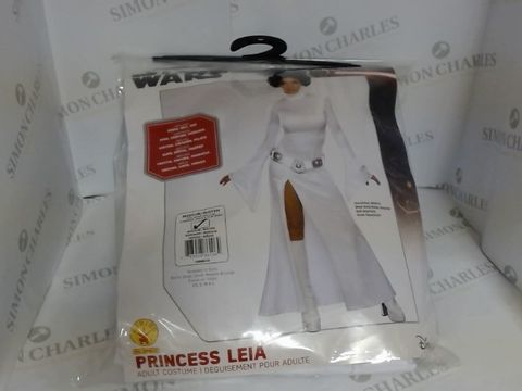 Lot 1404 PRINCESS LEIA FANCY DRESS COSTUME ADULT MEDIUM