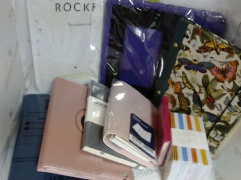 Lot 17165 LOT OF VARIOUS OFFICE SUPPLIES - NOEBOOKS,