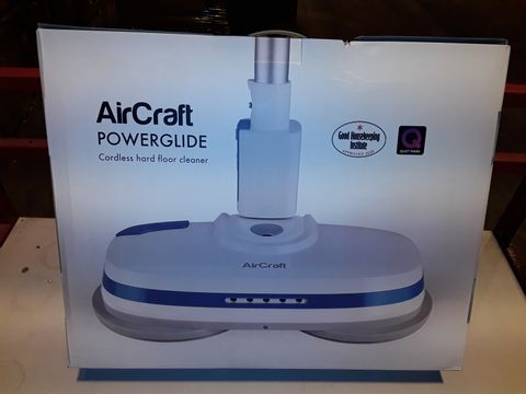 Lot 3197 AIRCRAFT POWERGLIDE CORDLESS HARD FLOOR CLEANER