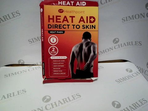Lot 9247 HEAT AID DIRECT TO SKIN HEAT PADS