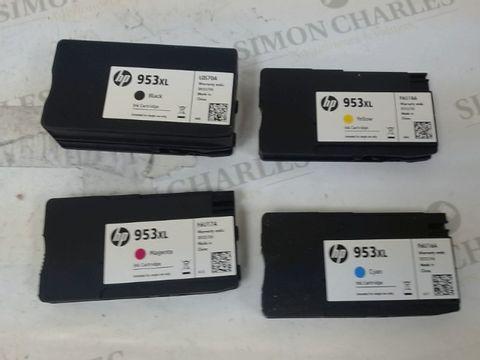 Lot 532 HP 3HZ52AE 953XL HIGH YIELD ORIGINAL INK CARTRIDGES