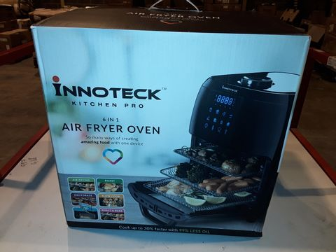 Lot 3286 BOXED INNOTECK KITCH PRO 1800W 12 LITRE AIR FRYER