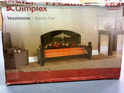 Lot 1012 DIMPLEX YEOMINSTER TRADITIONAL ELECTRIC FIRE