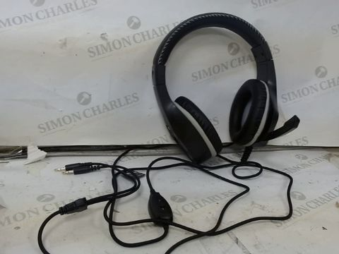 Lot 1236 BLACKWEB PC STEREO GAMING HEADSET