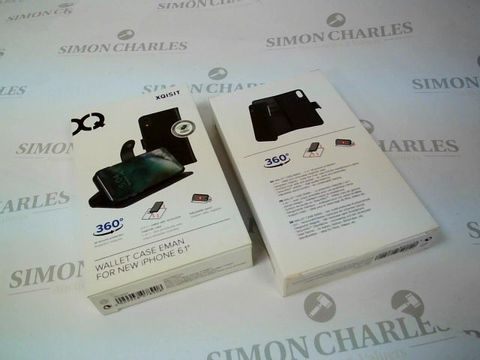 """Lot 2650 BOX OF 27 X BRAND NEW BOXED XQISIT WALLET CASE EMAN FOR IPHONE 6.1"""""""