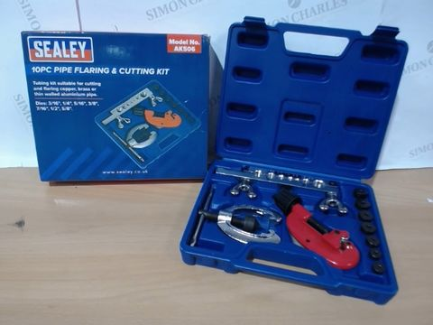 Lot 3221 SEALEY AK506 PIPE FLARING AND CUTTING KIT