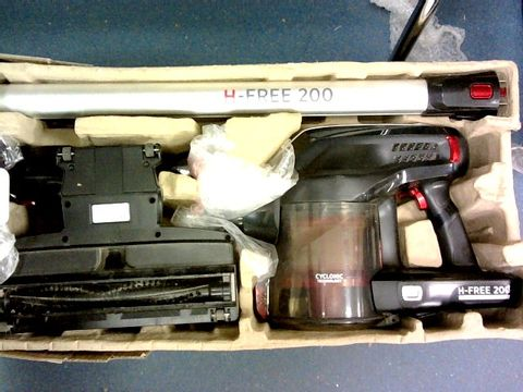 Lot 10244 HOOVER H-FREE 200 3IN1 CORDLESS STICK VACUUM CLEANER, HF222RH, LIGHTWEIGHT, POWERFUL, 22V, AGILE, SILVER