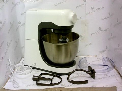 Lot 359 MORPHY RICHARDS STAND MIXER 400023 800W WHITE GREY