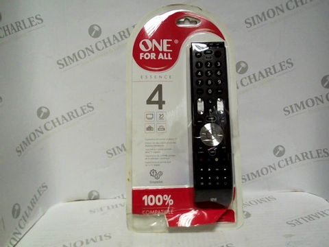 Lot 7379 ONE FOR ALL ESSENCE 4 REMOTE
