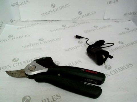 Lot 7455 BOSCH POWER ASSISTED PRUNERS