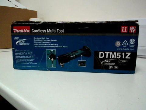 Lot 209 MAKITA DTM51 CORDLESS MULTI TOOL