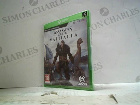 Lot 26 ASSASSIN'S CREED: VALHALLA  XBOX ONE GAME