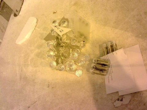 Lot 10031 HOME REFLECTIONS SET OF FACETED LIGHT STRANDS