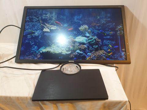 Lot 607 BENQ PD2700Q 27 INCH IPS LED QHD DESIGNER MONITOR