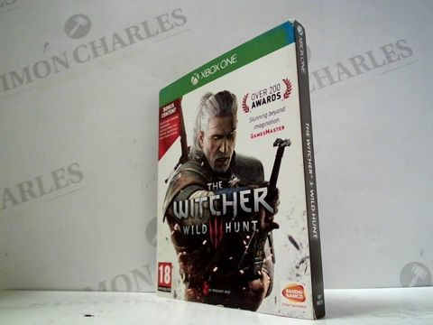 Lot 3045 THE WITCHER 3: WILD HUNT XBOX ONE GAME
