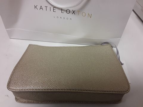 Lot 2080 DESIGNER KATE LOXTON CLUTCH BAG WITH GIFT BAG