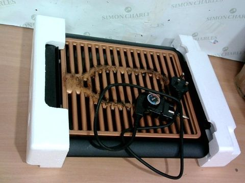 Lot 4110 GOTHAM STEEL COPPER NON-STICK ELECTRIC INDOOR GRILL