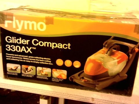 Lot 13151 FLYMO GLIDER COMPACT 330AX ELECTRIC HOVER COLLECT LAWN MOWER