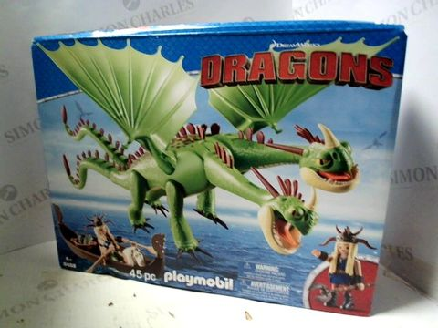 Lot 4022 PLAYMOBIL - DREAMWORKS DRAGONS 45PC SET