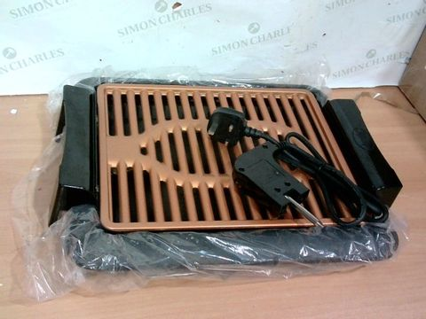 Lot 3373 GOTHAM STEEL COPPER NON-STICK ELECTRIC INDOOR GRILL