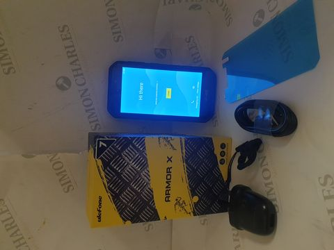Lot 21 BOXED ULEFONE ARMOUR X7 16GB ANDROID RUGGED SMART PHONE - BLACK