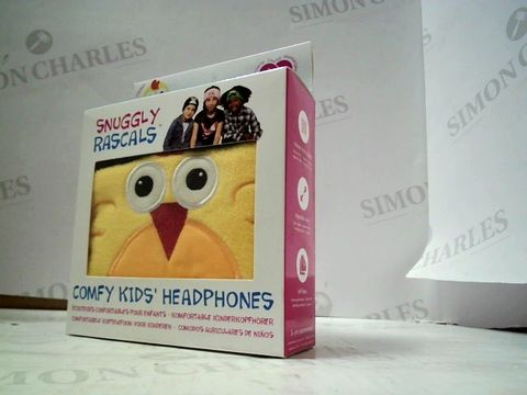 Lot 4455 BRAND NEW SNUGGLY RASCALS COMFY KIDS HEADPHONES - CHICKEN