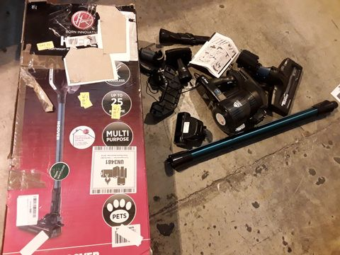 Lot 543 HOOVER H-FREE 200 CORDLESS STICK VACUUM CLEANER