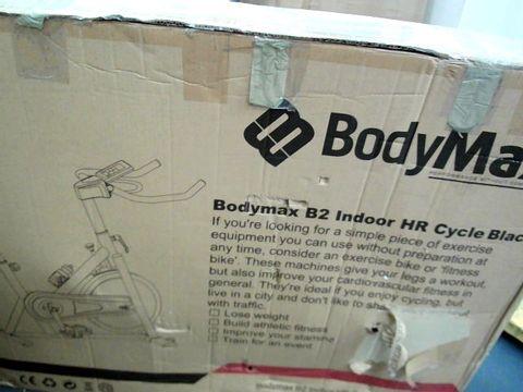 Lot 7600 BODYMAX B2 INDOOR HR EXERCISE BIKE BLACK