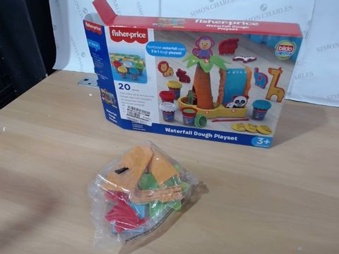 Lot 1066 BOXED FISHER PRICE WATERFALL DOUGH PLAYSET  RRP £34.99