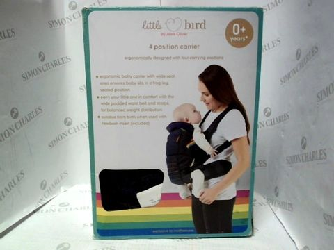 Lot 1000 LITTLE BIRD 4 POSITION BABY CARRIER