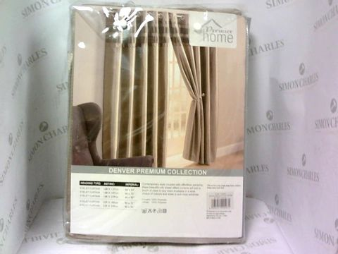 Lot 4204 PREMIER HOME SILKY EFFECT CURTAINS