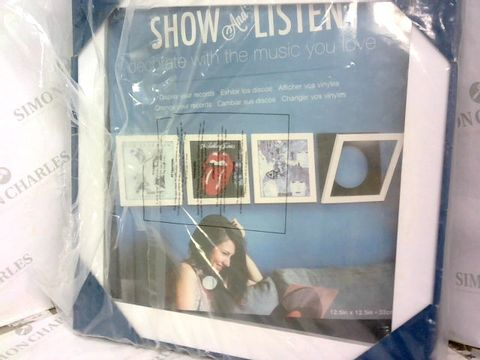 Lot 425 SHOW & LISTEN ALBUM DISPLAY FRAME