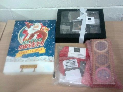 Lot 30 BOX OF ASSORTED CONFECTIONARY ITEMS - HOTEL CHOCOLAT & CHARBONNEL ET WALKER