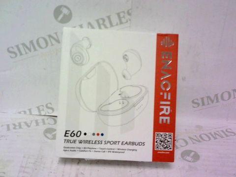 Lot 992 ENACFIRE E60 TRUE WIRELESS EARBUDS