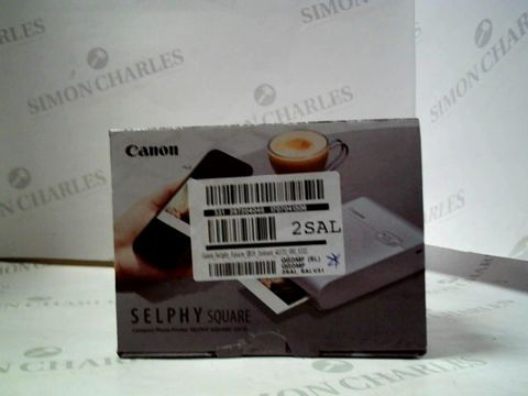 Lot 4047 CANON CANON SELPHY SQUARE QX10 INSTANT PHOTO PRINTER RRP £181.99