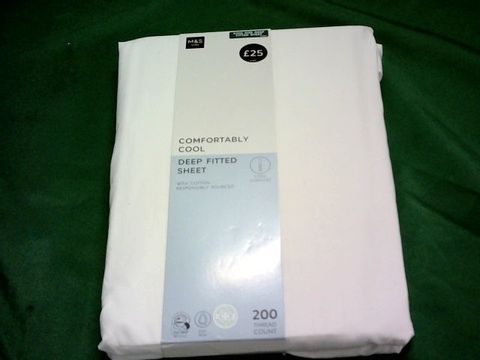 Lot 1053 M&S KING SIZE DEEP FITTED SHEET