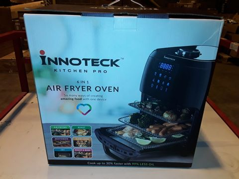 Lot 3301 BOXED INNOTECK KITCH PRO 1800W 12 LITRE AIR FRYER