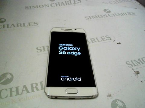 Lot 7322 SAMSUNG GALAXY S6 EDGE ANDROID SMARTPHONE