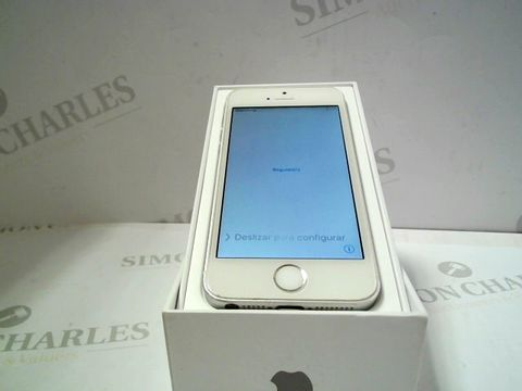 Lot 1052 APPLE IPHONE 5S SMARTPHONE CAPACITY UNKNOWN