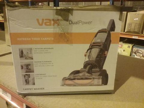 Lot 2153 VAX DUAL POWER CARPET CLEANER, 2.7 LITRE
