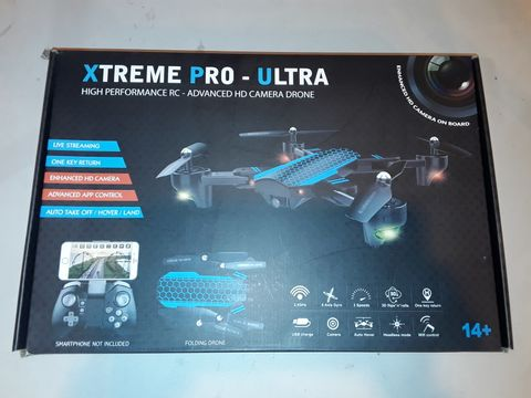Lot 1076 XTREME PRO-ULTRA HIGH PERFORMANCE HD CAMERA DRONE
