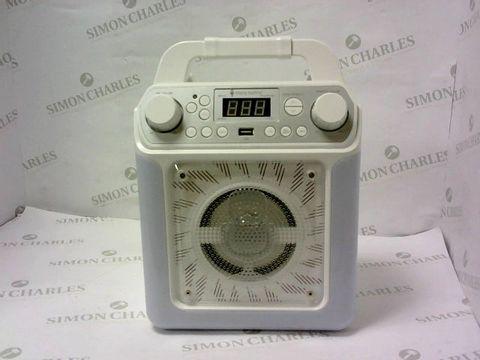 Lot 5404 SINGING MACHINE CLASSIC SERIES KARAOKE SYSTEM RRP £119.99
