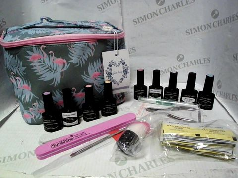 Lot 5291 JUN NENG UV-LED GEL NAIL POLISH & NAIL CARE SET