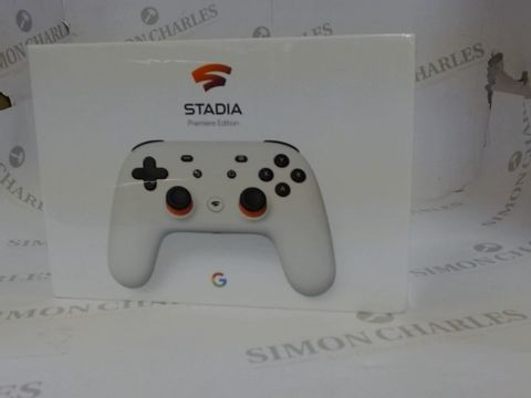 Lot 3592 GOOGL STADIA PREMIERE EDITION CONTROLLER + GOOGLE CHROMECAST ULTRA