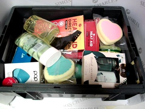 Lot 9288 LOT OF APPROX 20 ITEMS INCLUDING FLORAL RETREAT BODY LOTION AND ORIGINAL SOURCE SHOWER GEL